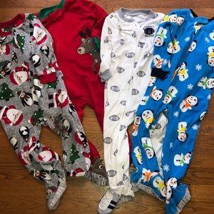 Carter's feet pajamas size 24 months